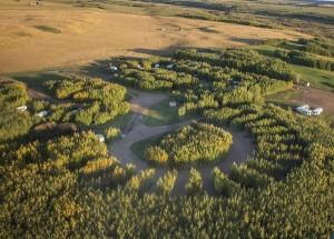 Mannville golf course, Alberta golf course, 9 holes